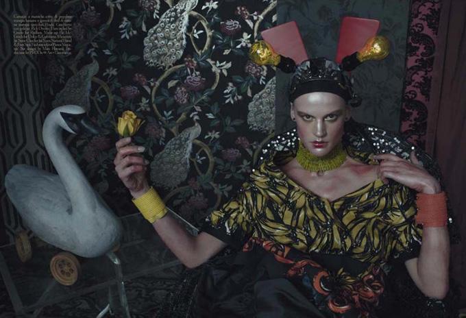 Фотосессия Стивена Мейзела для Vogue Italia