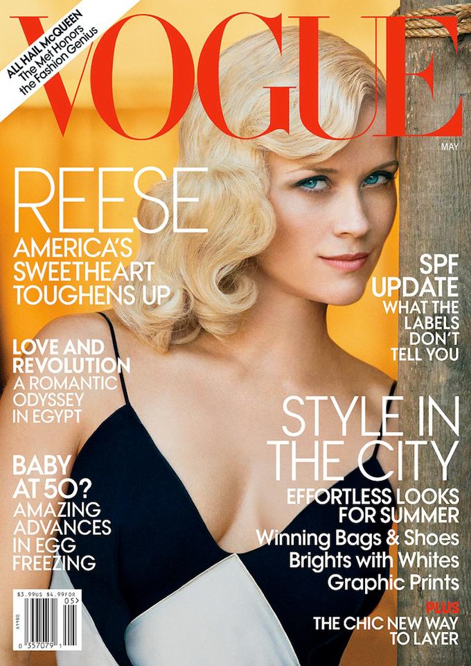 Риз Уизерспун Reese Witherspoon в Vogue US