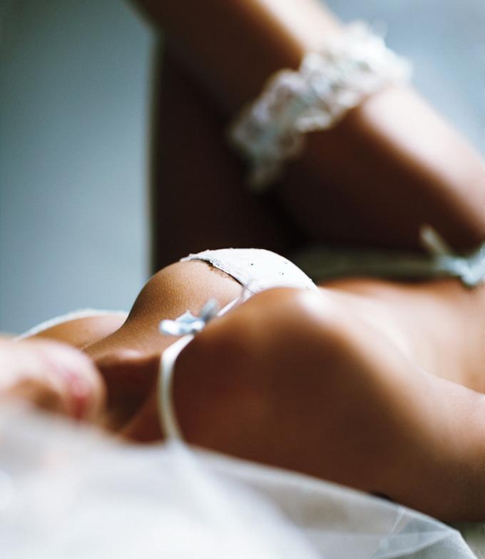 Lily Aldridge Лили Олдридж в рекламе белья для невест Victoria's Secret