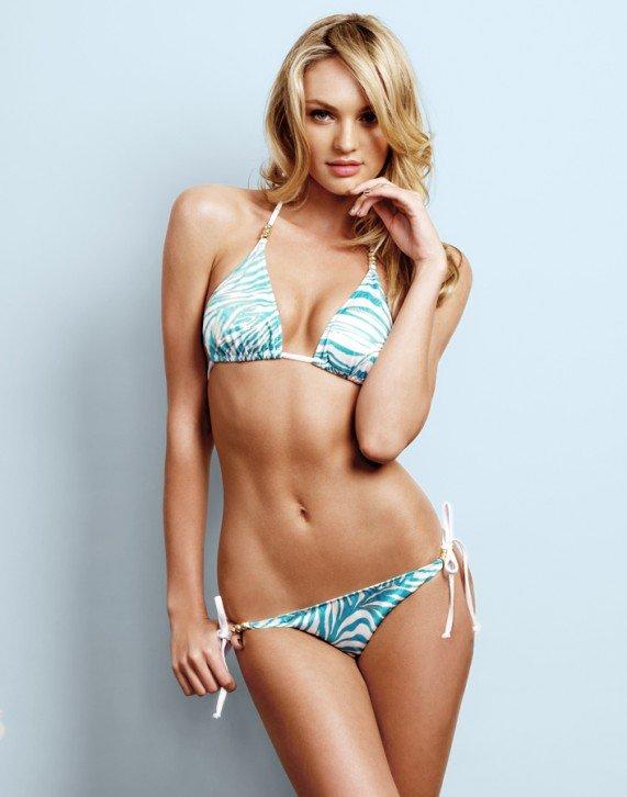 Коллекция купальников от сексуальной красотки из Victoria's Secret, Кэндис Свейнпол