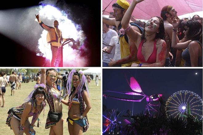Музыкальный фестиваль Coachella в Калифорнии