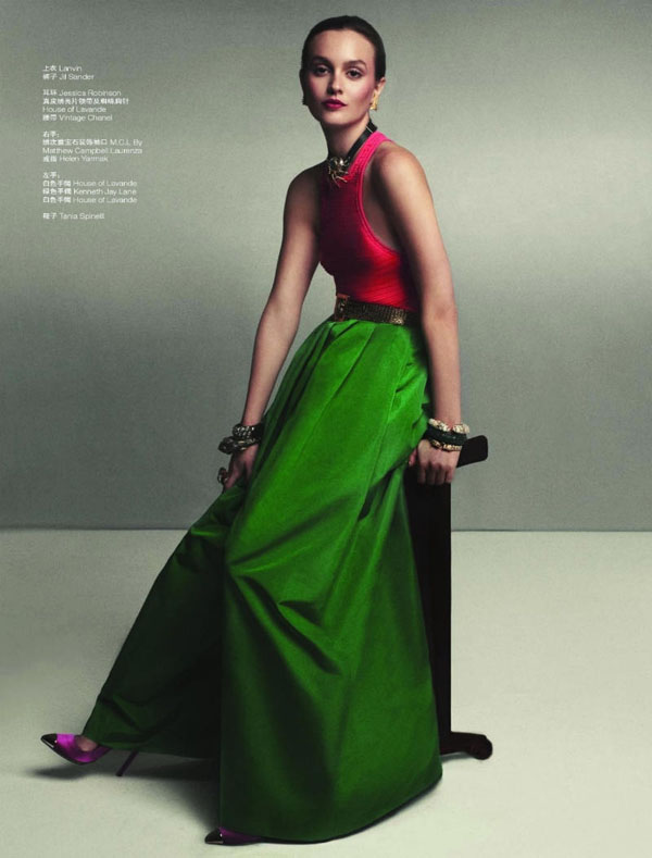 Лейтон Мистер в L'Officiel China