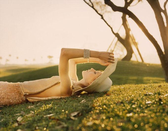 Дри Хэмингуэй для Vogue UK