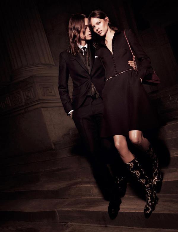 Фрейя Беха Эриксен в Interview и Vogue Nippon