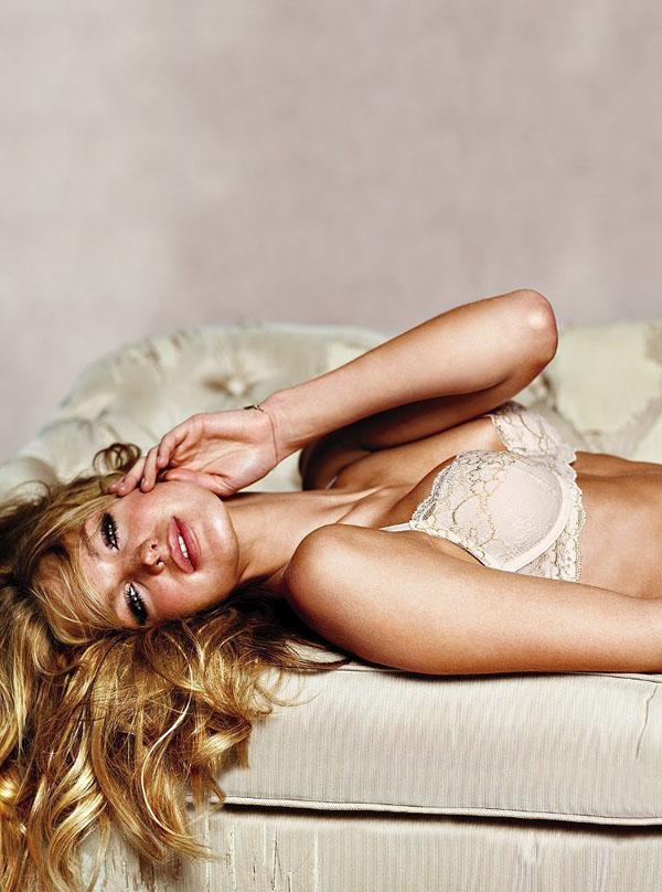Эрин Хитертон для Victoria's Secret. Модель Erin Heatherton