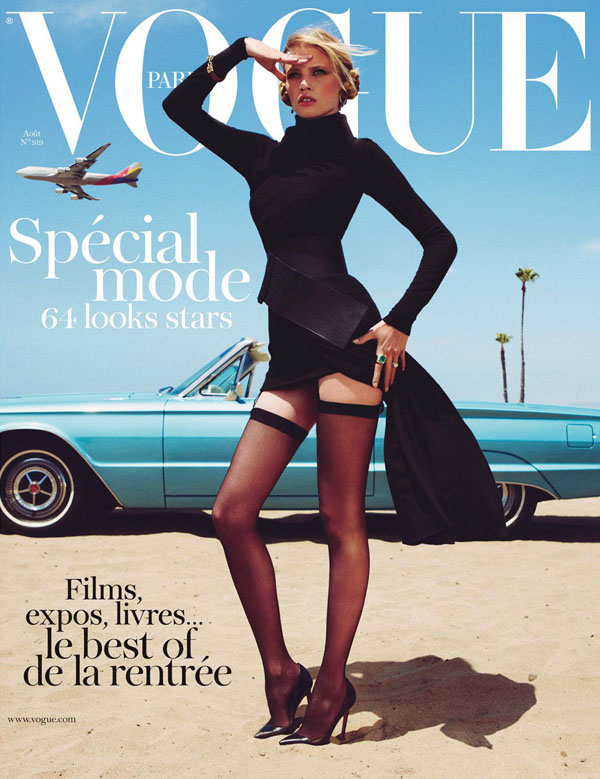 Фотосессия в Vogue Paris. Фото Inez van Lamsweerde и Vinoodh Matadin