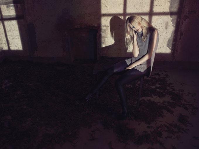 Клаудиа Шиффер в рекламе собственной линии одежды
