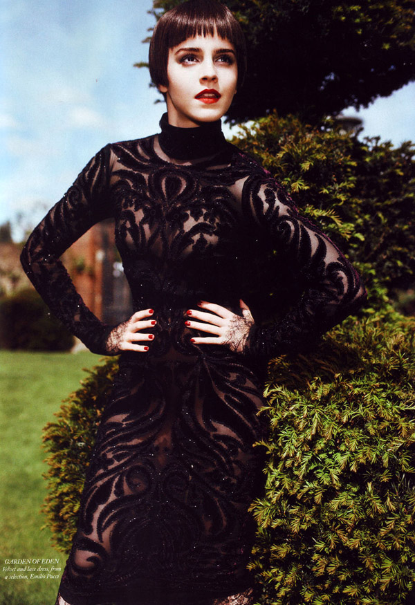 Эмма Уотсон в Harper's Bazaar UK