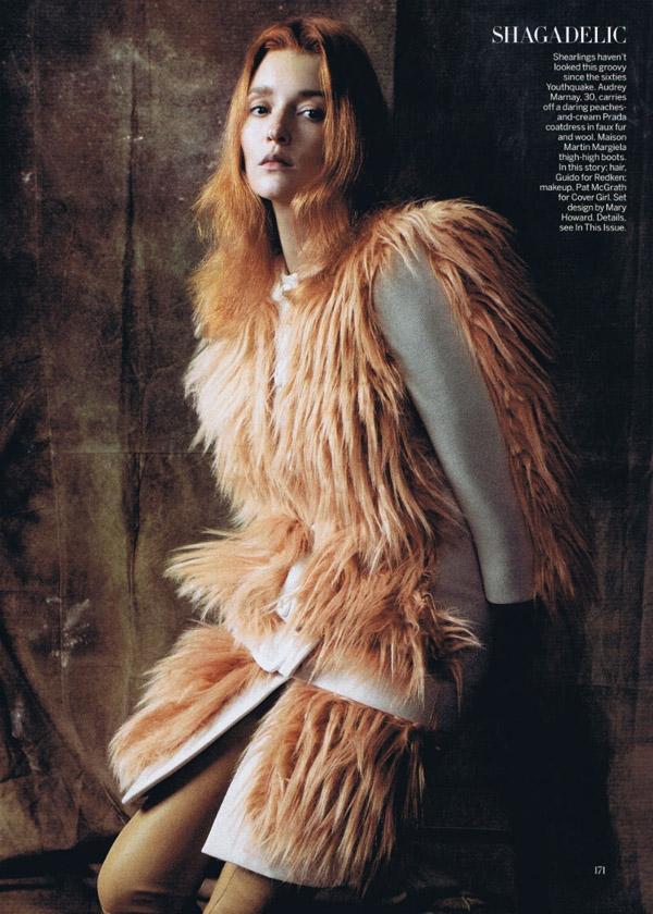 Фотосессия в Vogue US август, 2011. Фото от Steven Meisel
