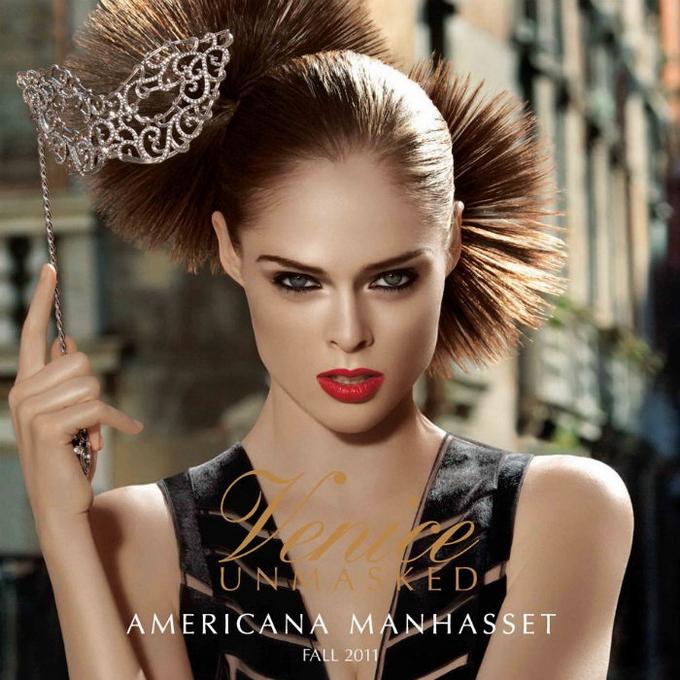 Коко Роша в лукбуке Americana Manhasset.