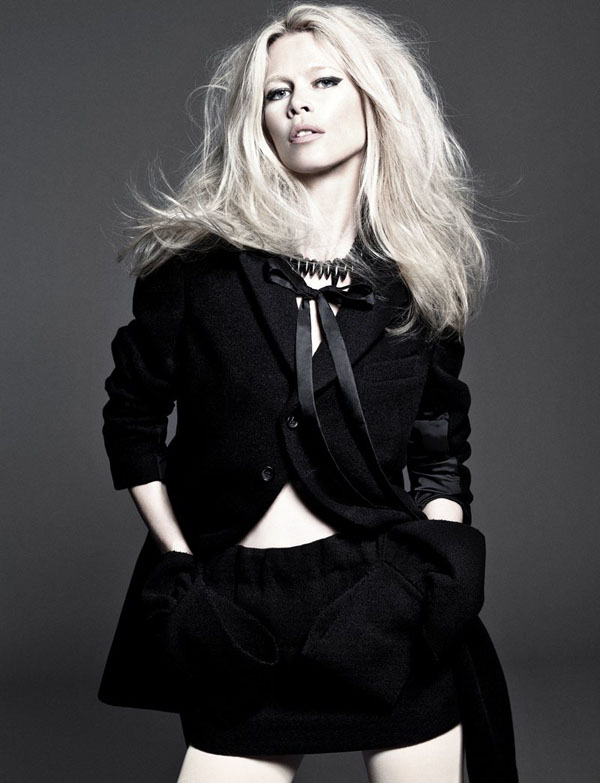 Клаудіа Шиффер в Vogue Spain. Фото моделі Claudia Schiffer