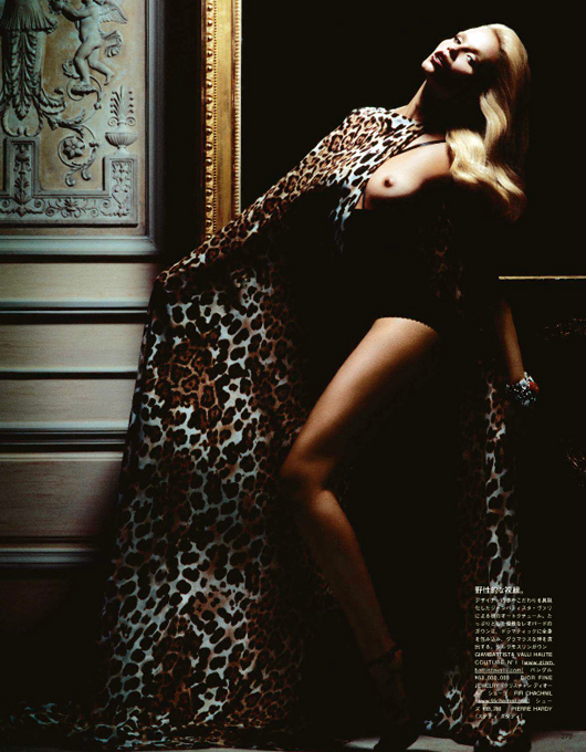 Наташа Полі для Vogue Japan. Фото Natasha Poly.
