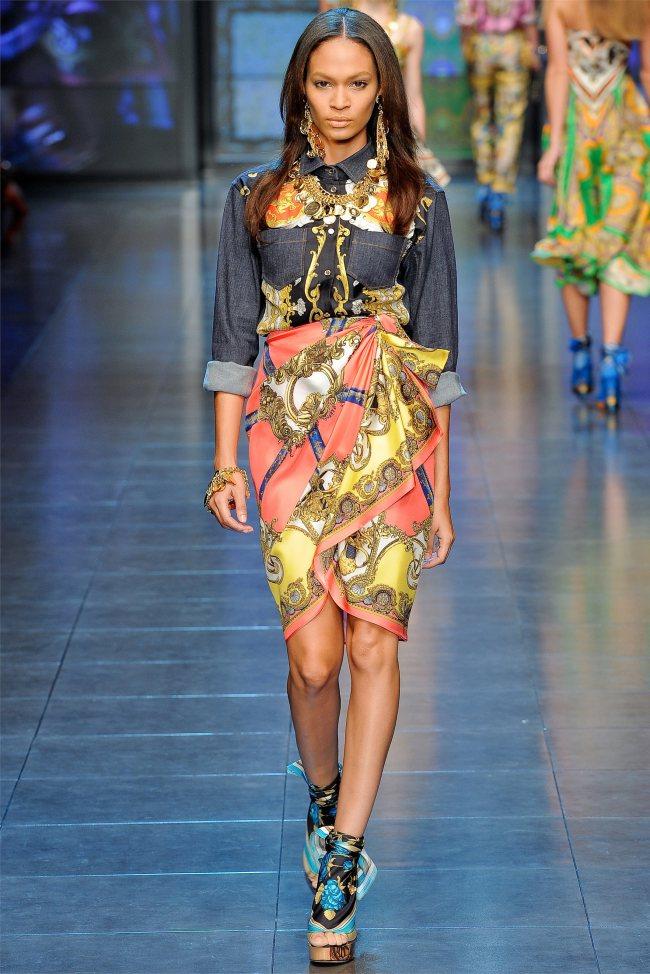 Тиждень моди в Мілані: остання колекція D & G. Фото робіт Доменіко Дольче і Стефано Габбана