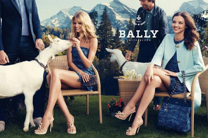 Міранда Керр та Джулія Стегнер для Bally. Фото Miranda Kerr та Julia Stegner