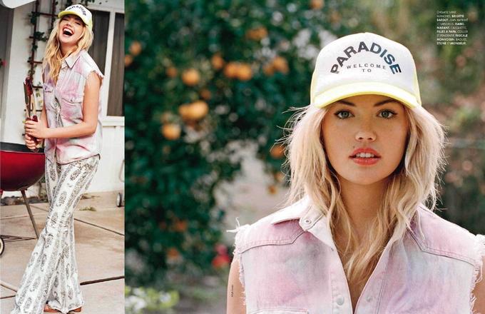 Кейт Аптон для Elle France. Фото Kate Upton.