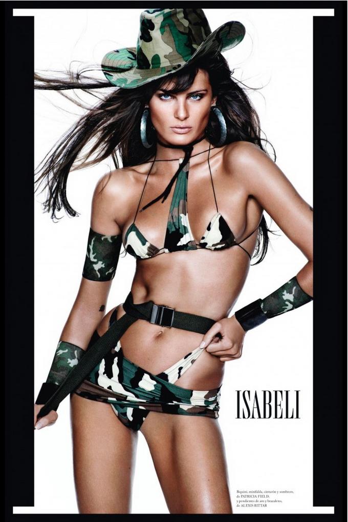 Супермоделі в Vogue Espana. Фото провідних фотомоделей світу