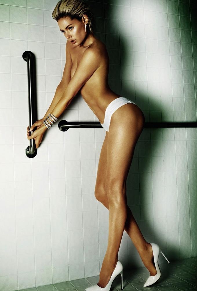 Даутцен Крез для Vogue Brazil. Еротичні фото Doutzen Kroes.