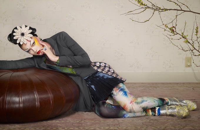Поп-гейша в Jalouse. Фото неповторної Yumi Lambert