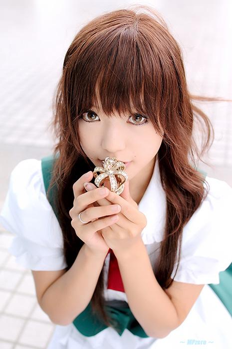 Японская девушка-красавица Кипи. Фото Kipi