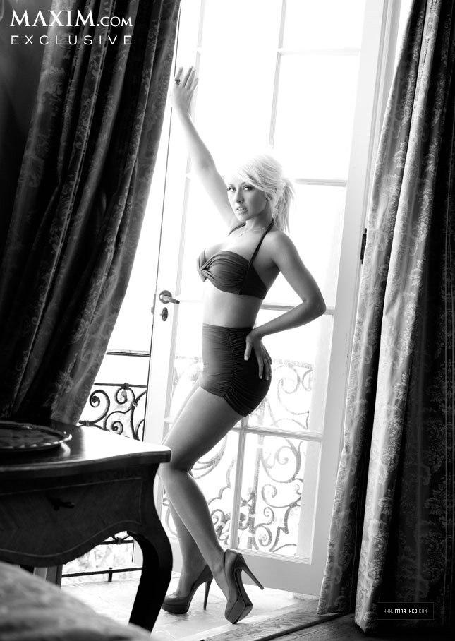 Крістіна Агілера на Maxim. Фото Christina Aguilera