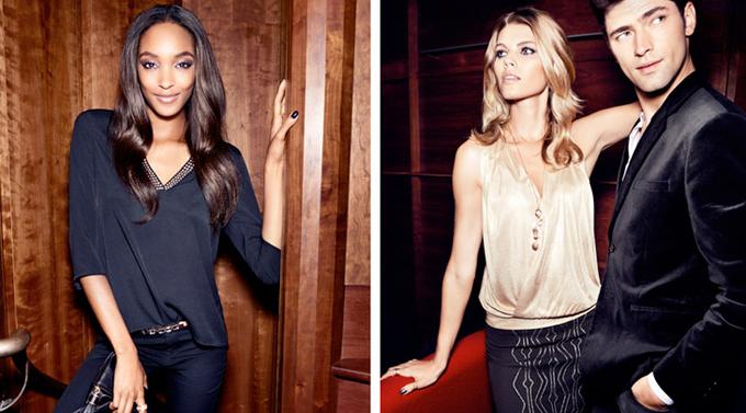 Топ-моделі в H & M. Фото Cameron Russell, Jourdan Dunn, Maryna Linchuk, Yulia Lobova, Sean O'Pry