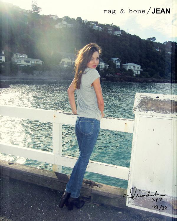 Міранда Керр у рекламній кампанії Rag & Bone. Фото Miranda Kerr