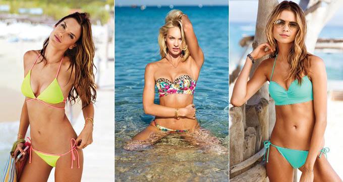 Каталог Victoria's Secret Swim 2014. Фото сексуальних моделей в бікіні.