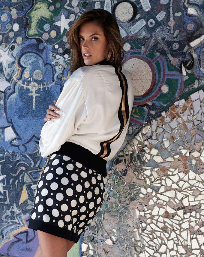 Алессандра Амбросио в S Moda. Красотка Alessandra Ambrosio