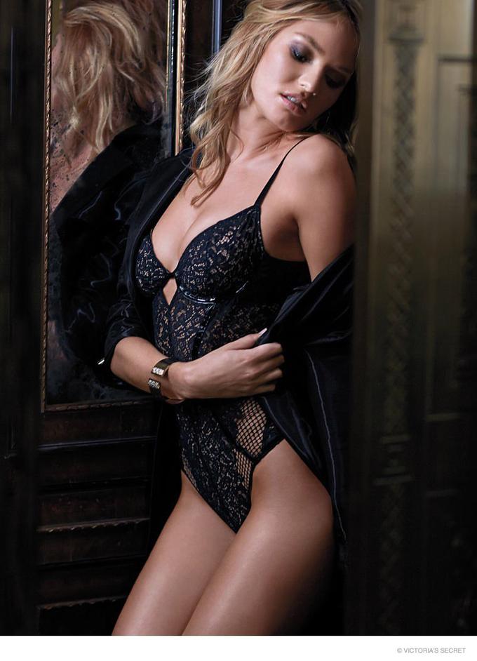 Кэндис Свэйнпоул в каталоге Victoria's Secret. Сексуальная Candice Swanepoel
