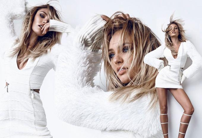 Кэндис Свэйнпоул в новой рекламе Osmoze Jeans. Фото красотки Candice Swanepoel
