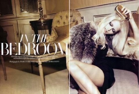 Michaela Hlavackova для Harper's Bazaar UK