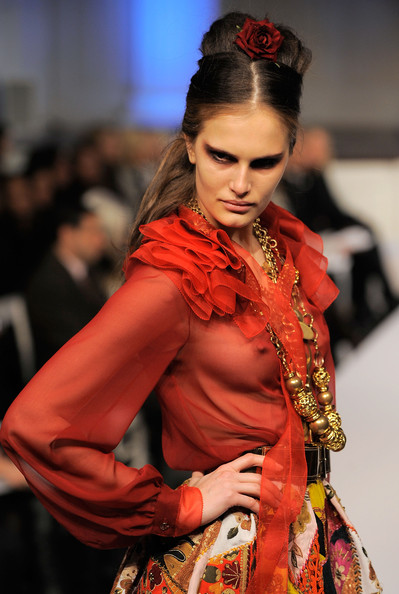 Показ новой коллекции Oscar de la Renta pre-fall 2010