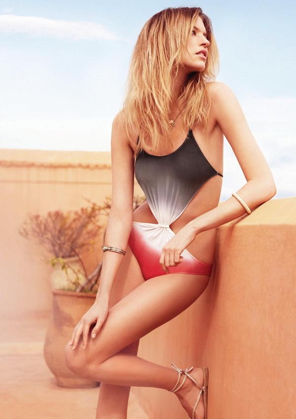 Марта Хант Martha Hunt в рекламе купальников и нижнего белья для Womensecret