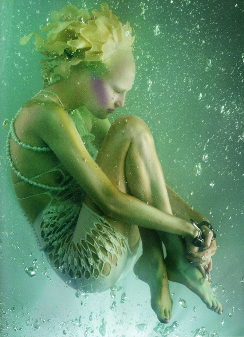 Фотосессия Алла Костромичева Alla Kostromicheva, девушка из Атлантиды
