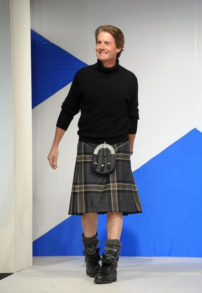 Модный показ Dressed To Kilt в шотландском стиле