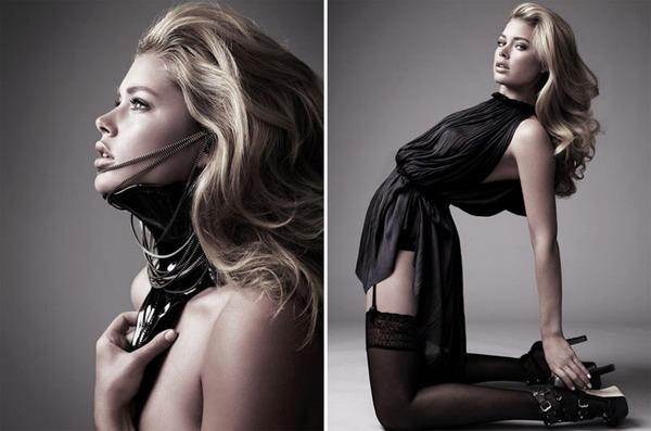 Фото моделей в студии