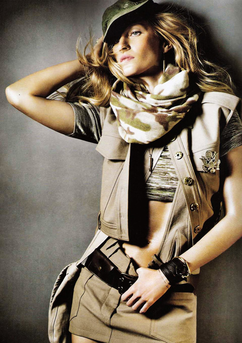 Жизель Бюндхен Gisele Bundchen для Vogue Korea