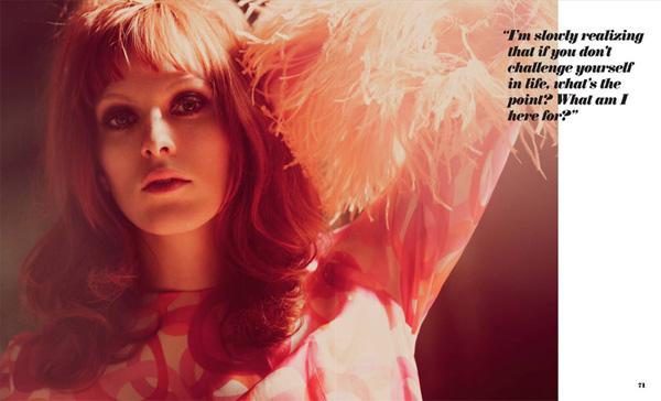Карен Эльсон Karen Elson в Foam Magazine