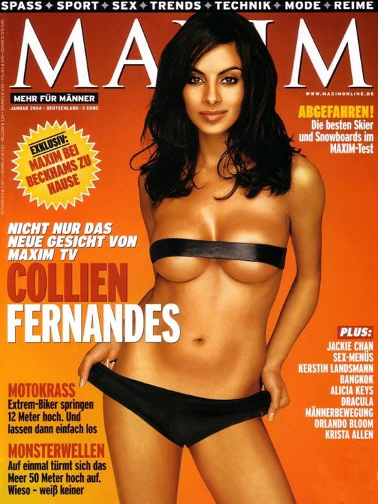 Коллин Фернандес Collien Fernandes, самая сексуальная женщина в мире по версии журнала FHM Германия