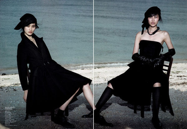 Две фотосессии китайского Vogue