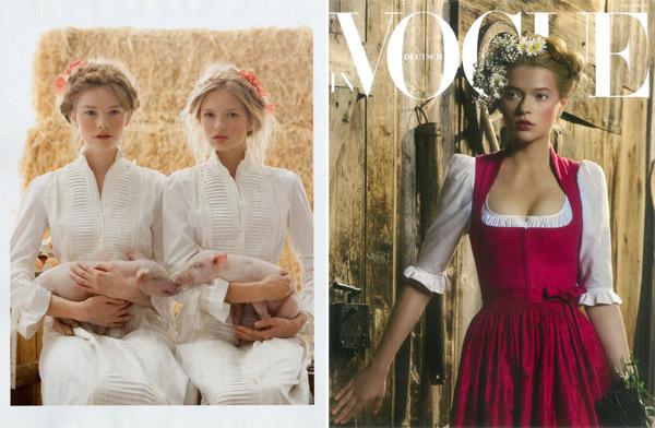 Vogue в деревне