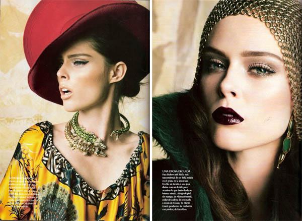 Коко Роша Coco Rocha в мексиканском Vogue