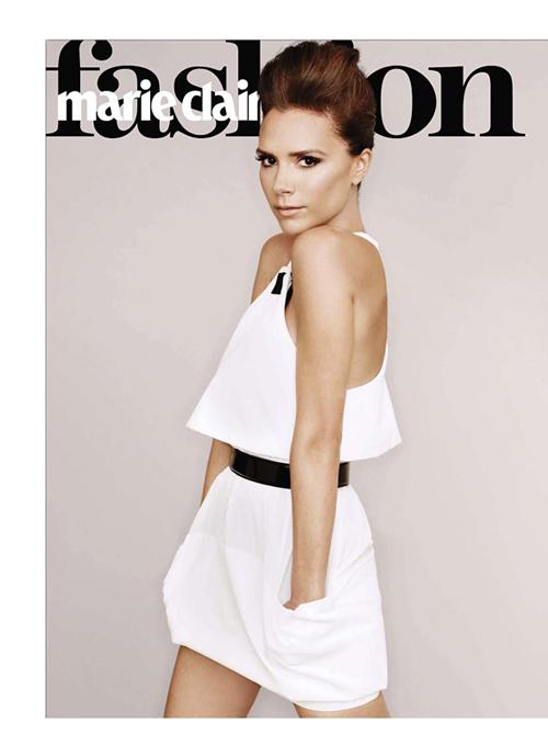 Секреты Victoria Beckham в Marie Claire US