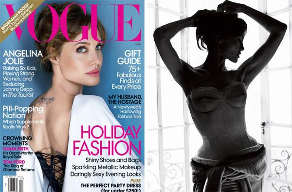 Анджелина Джоли Angelina Jolie в Vogue US