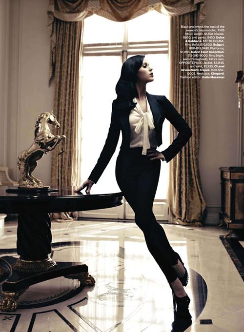 Кэти Перри в Harper's Bazaar US