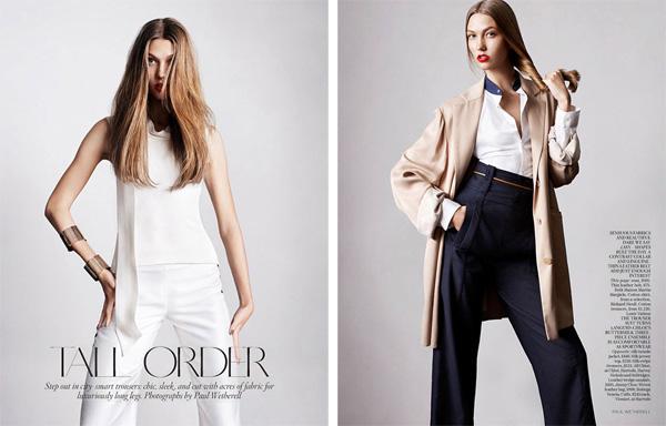 Карли Клосс Karlie Kloss в Vogue UK