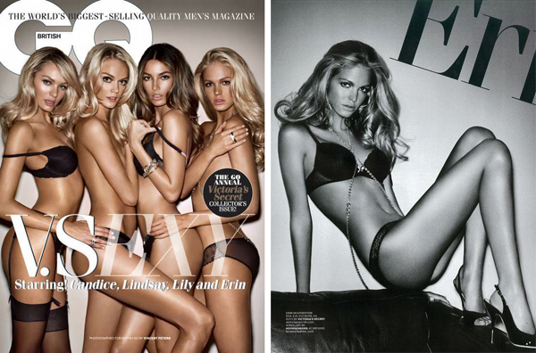 Ангелы Victoria's Secret в GQ UK