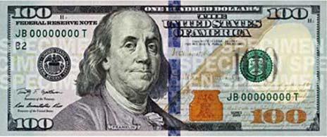 В обращение введена новая 100-долларовая купюра