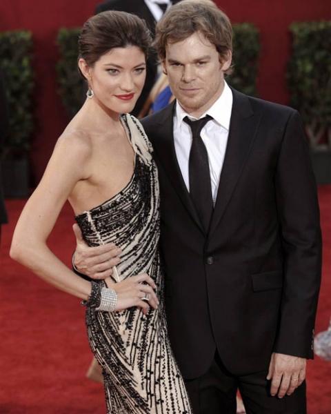 Майкл Си Холл Michael C. Hall и его жена и коллега по сериалу «Dexter» Дженнифер Карпентер Jennifer Carpenter.