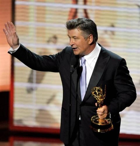 Лучший актер комедийного сериала — Алек Болдуин Alec Baldwin 30 Rock.